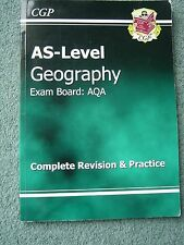 AS Level Geography AQA Complete Revision & Practice by CGP Books (Paperback, 201