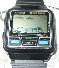 VINTAGE CASIO GAME WATCH GC-7 COSMO FLIGHT