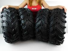 "1993-2004 YAMAHA KODIAK 400 MassFx MS 25"" ATV TIRES (SET 4) 25X8-12 25X10-12"