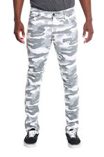 Victorious Mens Camouflage Skinny Fit Jeans AR169 - FREE SHIPPING