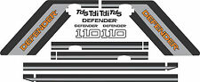 Land Rover Decals Stripes Defender 110 county Landrover Graphics stickers