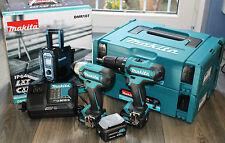 Makita Akku-Set HP331DSMJ + TD110DY1J + Baustellenradio DMR107 10,8V