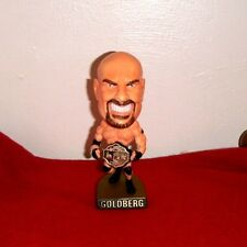 GOLDBERG WCW/NWO Head Ringers Figure Statue 1999 Toy Biz