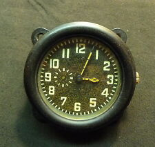 1941 Russian Soviet WWII Aircraft Plane Cabin Wind Up Watch WORKING RARE USSR