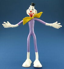 SCHLEICH Biegefigur - Clown Button - weiß - 15,5 cm  - ca. 1969 - Figur - Bendy