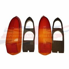 New Pair of Tail Lamp Stop Light Lens MGB MG Midget 1970-1980 Great Quality
