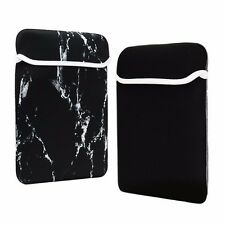 "13-Inch Black Marble Reversible Sleeve Bag for 13"" Macbook /Air/Pro/ Chromebook"