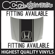HONDA BONNET STRIPE DECAL GRAPHIC - CIVIC EG EK EP3 EK9 ACCORD INTEGRA VIPER