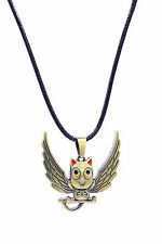 Fairy Tail Cosplay Costume Accessory Bronze Happy Emblem Pendant Necklace V1