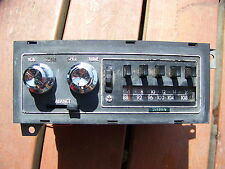 1972 DODGE TRUCK AM FM STEREO OEM POWER WAGON 73 74 75 76 77 78 79 RAMCHARGER