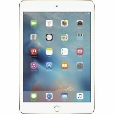 New Sealed Apple iPad Mini 4 4th Gen 64GB WiFi + 4G LTE Cellular Unlocked Gold