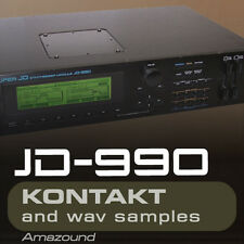 ROLAND JD990  for KONTAKT 240 .nki PATCHES 3 DRUMKITS 1616 WAV SAMPLES 24BIT