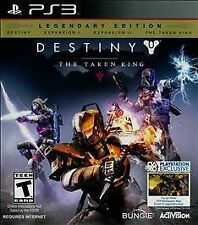 DESTINY THE TAKEN KING Legendary Ed (Sony Playstation 3 PS3) Factory Sealed NEW
