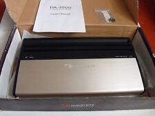 "Nakamichi PA-1500 Rare High End Mono Amp ""Japan"" Old School SQ"