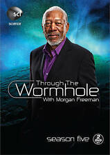 THROUGH THE WORMHOLE WITH MORGAN FREEMAN SEASON FIVE 5 - 2 DVD Set