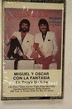 MIGUEL OSCAR CON LA FANTASIA UN REGALO DE SALSA CASS(Audio Cassette Sealed)