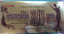Premium Ginseng Slim Tea 20 Tea Bags Dieter Energy Drink Extra Strength