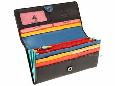 Visconti Womens Ladies RFID Blocking Leather Purse Wallet In Gift Box - CHL72