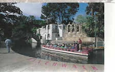 Riverwalk   Boat Sea Ark    San Antonio  TX    Unused Chrome Postcard 12114