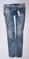 "NEW Ladies DIESEL LOWKY 0074N rip Straight JEAN womans size W27 L30 uk 10 30""leg"