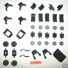LEGO Black Wheels Car Parts Hood 6014 6015 Chair 3788 50947 47755 50949 52031