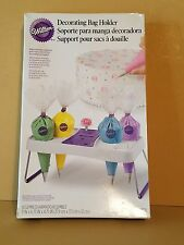 NEW ~ WILTON Decorating Bag Holder Stand Baking Supplies