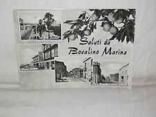 Vecchia cartolina foto d epoca di Bovalino Marina piazza corso Umberto scuola