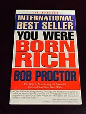 International Best Seller, YOU WERE BORN RICH, Bob Proctor