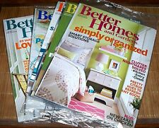 5 Better Homes and Gardens Magazine January, April, May, June and July 2014