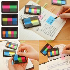 Creative Fluorescent Sticker Marker Post It Bookmark Memo Notepad Sticky Notes