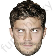 Jamie Dornan Celebrity Card Mask, Fifty Shades of Grey.All Our Masks Are Pre-Cut