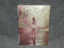 "Taylor Swift Official Spiral Notebook Standing In Creek Water 8 1/2"" x 11"" 2012"