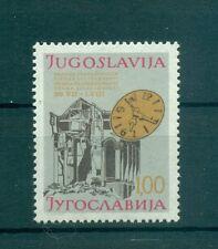 SOLIDARIETA'- SOLIDARITY WEEK YUGOSLAVIA 1977 Charity Stamp bilingual