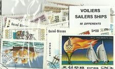 """Lot timbres thematique """" Voiliers"""""""