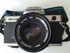 Olympus OM4-Ti champagne appareil photo objectif 50mm corps, cap, sangle, full working