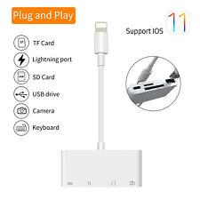 OTG Card Reader for Lightning to SD Smart Camera Card Readers Adapter for i I6I4