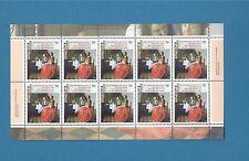 BRD / BUND  Nr. 3274, Jan Vermeer van Delft,   kompletter  Zehnerbogen  ** !!