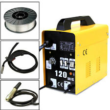 120AMP MIG 120 110V Flux Core Welding Machine Welder Spool Wire Auto Feed + Fan