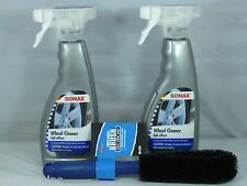 SONAX FULL EFFECT WHEEL CLEANER 16.9OZ SPRAY ALLOY CHROME PAINTED STEEL BMW VW