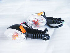 "KAWASAKI KSR110 TURN SIGNAL SET ""CLEAR LENS""(bi)"
