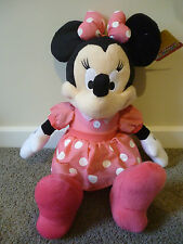 Disney Mickey Mouse Clubhouse - MINNIE MOUSE  48cm tall Soft Toy/Doll BNWT