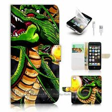 iPhone 5 5S Flip Wallet Case Cover! P0994 Dragon Ball