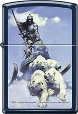 Rare Authentic SILVER WARRIOR by: FRANK FRAZETTA - ZIPPO LIGHTER