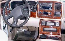 CHEVROLET CHEVY TAHOE LS LT INTERIOR WOOD DASH TRIM KIT SET 2003 2004 2005 2006