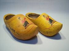 Vintage Advertising Imported Heineken Holland Beer Wooden Dutch Shoes