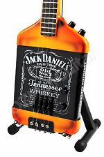 Miniature Guitar Jack Daniels & Michael Anthony Bass