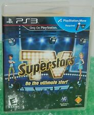 Sony PS3 TV Superstars Be The Ultimate Star! Video Game - Wacky Game Show Action