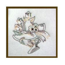 1114:  Machine Embroidery Designs - My Garden - Redwork