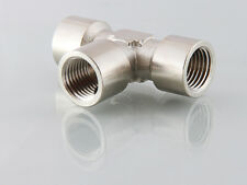 1/8 Bsp Female 3 Way Tee Fitting 1 Off      B327