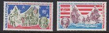 Navi: Wallis & Futuna è. 1976, Rivoluzione americana Set sg254-5 n.h.mint